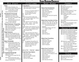 Essay Writing Revision Checklist Rubric