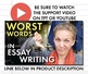 Essay Writing Support, Improve Literary Analysis Essays, FREE Slides/Handout
