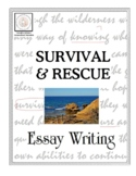 Essay Writing: Survival and Rescue (Distance Learning)