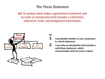 Essay Writing: The Thesis Statement