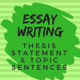 Essay Writing for All Subjects: Thesis Statement and Topic