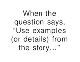 Essay Writing Tips--Adding Details Chart