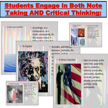 Essay Writing: Transitions PowerPoint