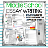 Essay Writing for Beginners: Notes, Organizers, Examples, & Handouts