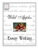 Essay Writing: Wild Apples