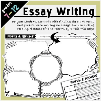Essay Writing Words & Phrases