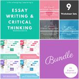 Essay Writing Worksheet Set