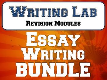 Essay Writing - Writing Lab BUNDLE