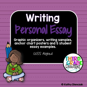 essay writing for grade 3