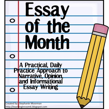 essay of the month by teaching in room teachers pay teachers essay of the month