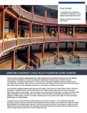 Essay on Elizabethan Theatre Conventions