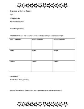 Essay or Report Handout