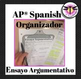 Essay organizer- outline - Organizador ensayo: AP Spanish