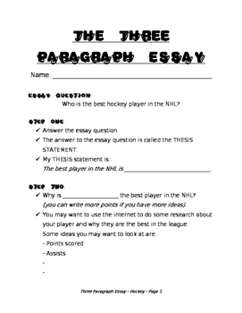 Essay outline for struggling writers - Who is the best player in the NHL?