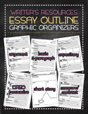 Essay outline graphic organizers