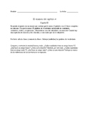 "Essay prompt on friendship ""La Amistad"" Realidades 3 Ch. 4 Test"