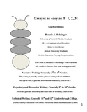 Essays as Easy as T 1, 2, 3! Teacher Edition (Goes with the Student Edition)