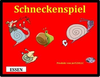 Essen (Food in German) Schnecke Snail game