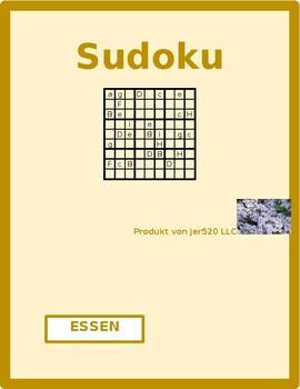 Essen (Food in German) Sudoku