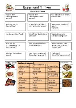 Essen und Trinken / Food and drink