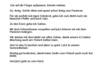 Essen und Trinken / Food and drink / German food and drink