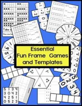 Essential 10 Frame Games and Templates