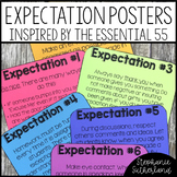 Essential 55 Classroom Expectation Posters