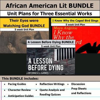 Essential African American Literature Unit Bundle