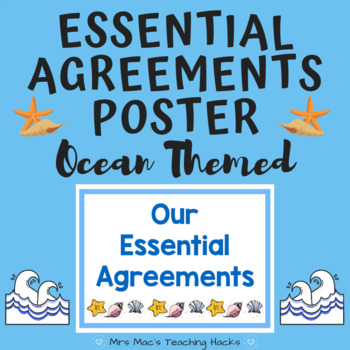 Essential Agreements Poster