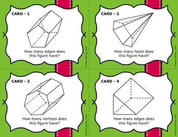 Essential Attributes of 3D Figures - Bilingual Bundle
