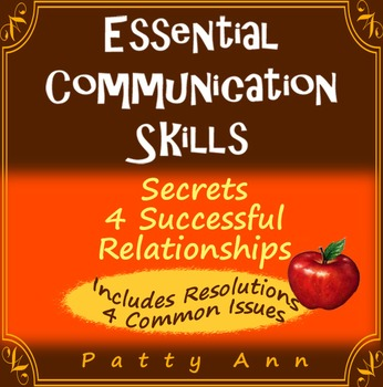 Oral Communication Skills: Secrets 4 Successful Relationships ~POPULAR CURRICULA