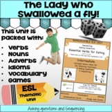 ESL Essential Eating Verbs-Intermediate - Grammar Unit and