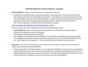 Essential Elements of Lesson Planning (EELP): Argument & Rhetoric