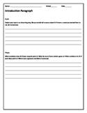 Essential Essay Outline