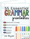 Essential Grammar Printables