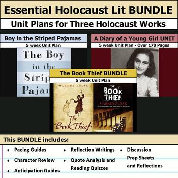 Essential Holocaust Literature Unit - Diary of a Young Gir