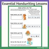 Essential Kindergarten Handwriting Lessons