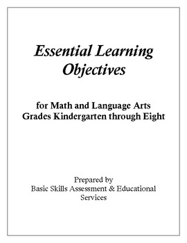 Essential Learning Objectives