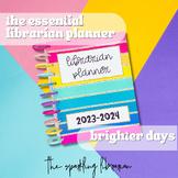 Essential Librarian Planner | Librarian Binders | Print +