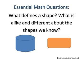 Essential Math Questions - 2nd Grade