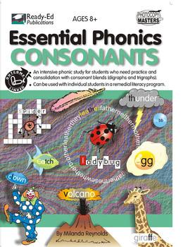 Essential Phonics: Consonants - Set 8 - 'j', 'g', 'ge', 'dge' Sounds