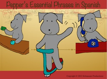 Essential Phrases in Spanish with Pepper