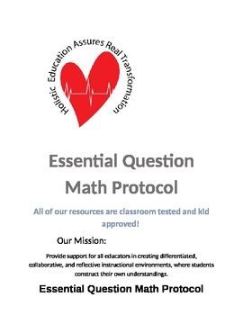 Essential Question Math Protocol