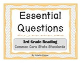 Essential Question Posters - 3rd Grade Reading Common Core
