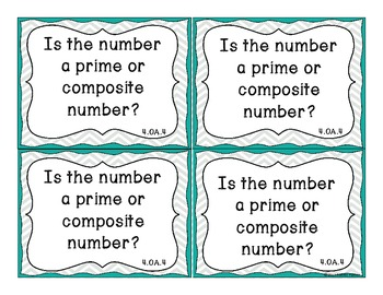 Essential Question Task Cards - 4th Grade Math Common Core State Standards