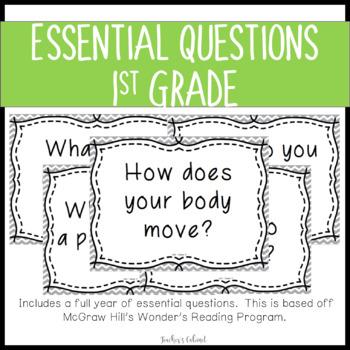 Essential Questions {1st Grade}