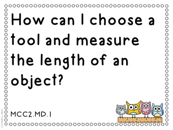 Essential Questions 2nd Gr Common Core Language Arts and Math Doodle Border