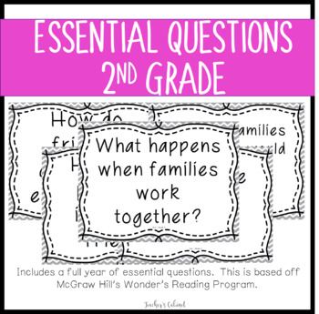 Essential Questions {2nd Grade}