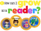 Essential Questions Anchor Charts & Lesson Badges for K-5 LibraryCurriculum Maps