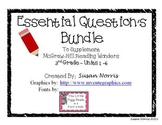 Essential Questions Bundle ~ McGraw-Hill Reading Wonders